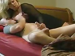 Friends mom handjob story