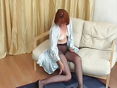 Amateur, Lingerie, Mature, Russian