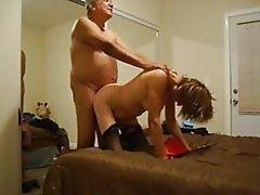 Granny, Amateur, Mature, Small Tits